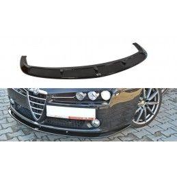 Lame Du Pare-Chocs Avant V.2 Alfa Romeo 159 Gloss Black