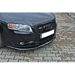 Lame Du Pare-Chocs Avant V.2 Audi A4 B7 Gloss Black