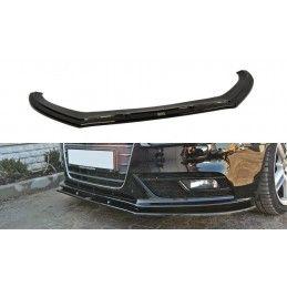 Lame Du Pare-Chocs Avant V.1 Audi A4 B8 Fl Gloss Black
