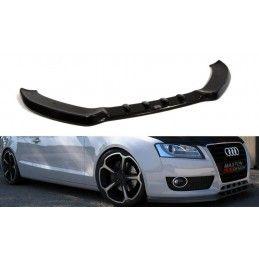 Lame Du Pare-Chocs Avant Audi A5 8T Noir Brillant, A5/S5/RS5 8T