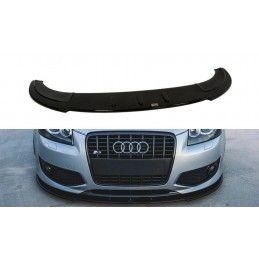 Lame Du Pare-Chocs Avant Audi S3 8p Gloss Black