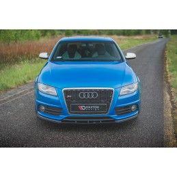 Lame Du Pare-Chocs Avant Audi S4 / A4 S-Line B8 Gloss Black
