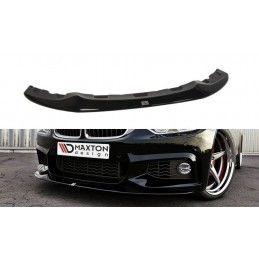 LAME DU PARE-CHOCS AVANT v.2 BMW 4 F32 M-PACK (GTS-look) Noir Brillant, Serie 4 F32/ M4