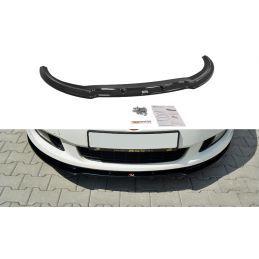 Maxton design Lame Du Pare-Chocs Avant Fiat Bravo Mk 2 Sport Gloss Black