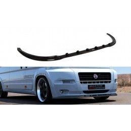LAME DU PARE-CHOCS AVANT FIAT DUCATO III (POUR VERSION STANDARD) Noir Brillant, Ducato