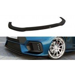 Lame Du Pare-Chocs Avant (Focus RS Look Pare-Chocs) Ford Fiesta Mk7 FL  Noir Brillant, Fiesta Mk7 / 7.5