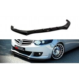 Maxton design Lame Du Pare-Chocs Avant Honda Accord Mk 8 Avant Facelift Gloss Black