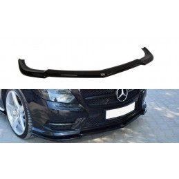Maxton design Lame Du Pare-Chocs Avant Mercedes Cls C218 Amg Line Gloss Black