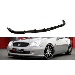 Maxton design Lame Du Pare-Chocs Avant Mercedes Slk R 170 Gloss Black
