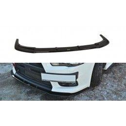 Maxton design Lame Du Pare-Chocs Avant V.1 Mitsubishi Lancer Evo X Gloss Black