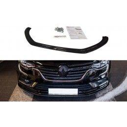Lame Du Pare-Chocs Avant Renault Talisman V.1 Gloss Black