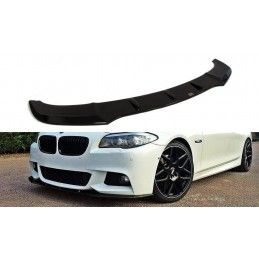 LAME DU PARE-CHOCS AVANT V.1 BMW 5 F10/F11 MPACK Noir Brillant, Serie 5 F10/ F11
