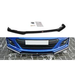 Maxton design Lame Du Pare-Chocs Avant / Splitter V.3 Subaru Brz Facelift Gloss