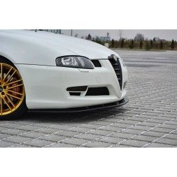 Lame Du Pare-Chocs Avant V.1 Alfa Romeo Gt Gloss Black