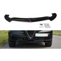 Lame Du Pare-Chocs Avant V.1 Alfa Romeo Stelvio Gloss Black