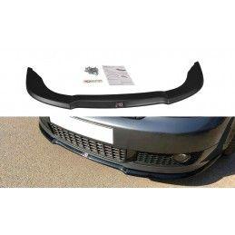 Lame Du Pare-Chocs Avant V.1 Audi A4 S-Line B6 Gloss Black