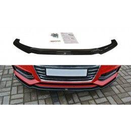 Lame Du Pare-Chocs Avant V.1 Audi A4 B9 S-Line Gloss Black