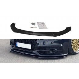 Lame Du Pare-Chocs Avant V.1 Audi A7 Mk1 S-Line Gloss Black