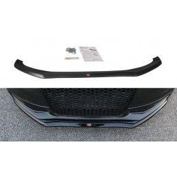 Lame Du Pare-Chocs Avant V.1 Audi S4 B8 Fl Gloss Black