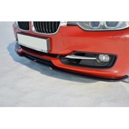 Lame Du Pare-Chocs Avant V.1 Bmw 3 F30 Gloss Black