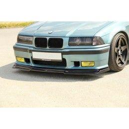 LAME DU PARE-CHOCS AVANT V.1 BMW M3 E36 Noir Brillant, Serie 3 E36/ M3