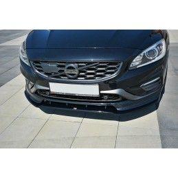 LAME DU PARE-CHOCS AVANT V.1 Volvo V60 Polestar Facelift Noir Brillant, V60