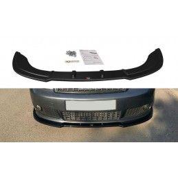 Lame Du Pare-Chocs Avant V.2 Audi A4 S-Line B6 Gloss Black