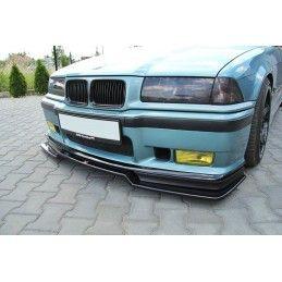 LAME DU PARE-CHOCS AVANT V.2 BMW M3 E36 Noir Brillant, Serie 3 E36/ M3