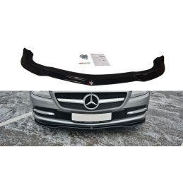 Maxton design Lame Du Pare-Chocs Avant / Splitter V.1 Mercedes Slk R172 Gloss
