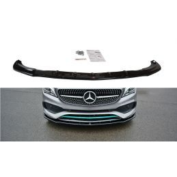Maxton design Lame Du Pare-Chocs Avant / Splitter V.1 Mercedes-Benz Cla C117 Amg-Line Facelift Gloss