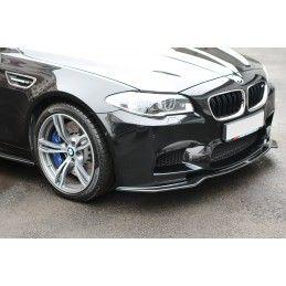 LAME DU PARE-CHOCS AVANT / SPLITTER BMW M5 F10/ F11 Noir Brillant, Serie 5 F10/ F11