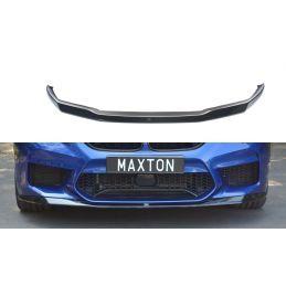 Maxton design Lame Du Pare-Chocs Avant / Splitter V.1 Bmw M5 F90 Gloss Black