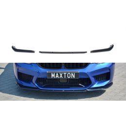 Maxton design Lame Du Pare-Chocs Avant / Splitter V.2 Bmw M5 F90 Gloss Black