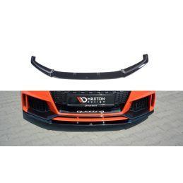 Maxton design Lame Du Pare-Chocs Avant V.2 Audi Tt Rs 8s Gloss Black