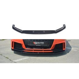 Lame Du Pare-Chocs Avant V.1 Audi Tt Rs 8s Gloss Black