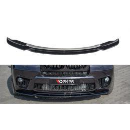 Lame du pare-chocs avant / Splitter  BMW X5 E70 Facelift M-pack Noir Brillant, X5 E70