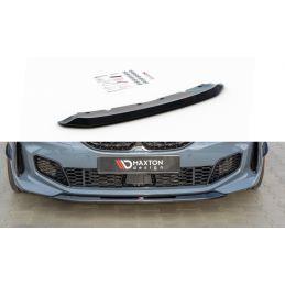 Maxton design Lame Du Pare-Chocs Avant V.2 Bmw 1 F40 M-Pack/ M135i Gloss Black