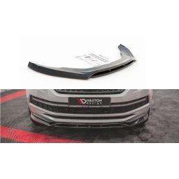 Lame Du Pare-Chocs Avant Skoda Kodiaq Mk1 Sportline/RS Noir Brillant, Kodiaq