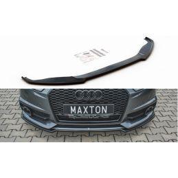 Lame Du Pare-Chocs Avant Audi S6 / A6 S-Line C7 Fl Gloss Black