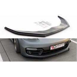 Lame Du Pare-Chocs Avant Porsche Panamera Turbo / GTS 971 Noir Brillant, Panamera