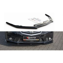 Maxton design Lame Du Pare-Chocs Avant Honda Accord Viii (cu Series) Facelift Gloss Black