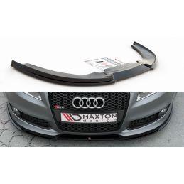 Lame Du Pare-Chocs Avant V.1 Audi Rs4 B7 Gloss Black