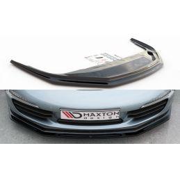 Lame Du Pare-Chocs Avant V.2 Porsche 911 Carrera 991 Carbon Look