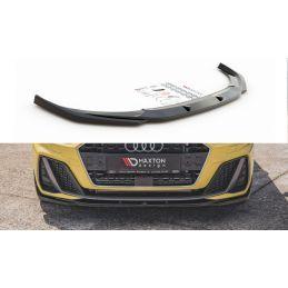 Lame Du Pare-Chocs Avant V.2 Audi A1 S-Line GB Noir Brillant, A1 GB 2018-