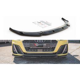 Lame Du Pare-Chocs Avant V.3 Audi A1 S-Line GB Noir Brillant, A1 GB 2018-