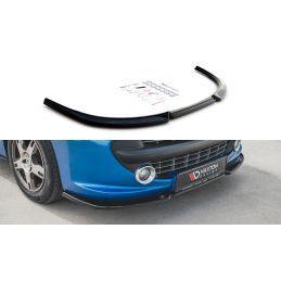 Maxton design Lame Du Pare-Chocs Avant Peugeot 207 Sport Gloss Black