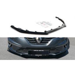Maxton design Lame Du Pare-Chocs Avant Renault Megane Mk.4 Gt-Line Gloss Black