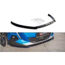 Lame Du Pare-Chocs Avant V.1 Peugeot 2008 Mk2 Gloss Black