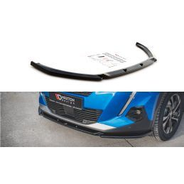Lame Du Pare-Chocs Avant V.2 Peugeot 2008 Mk2 Gloss Black