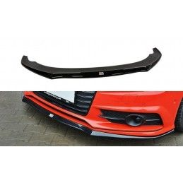 Lame Du Pare-Chocs Avant Audi S7 / A7 S-Line C7 Fl Textured